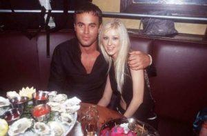 Christina with Enrique Iglesias