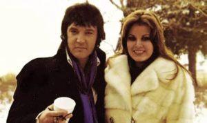 Ginger Alden with Elvis Presley
