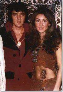 Linda Thompson With Elvis