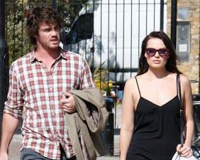 Margot Robbie with Henry Aitken