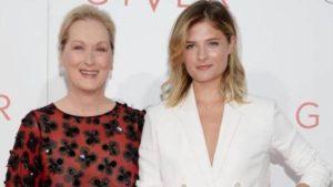 Meryl with her daughter Louisa
