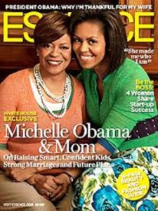 Michelle Obama with her Mother