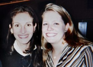 Julia Roberts with her sister Nancy Motes