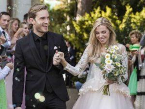 PewDiePie Wedding Picture