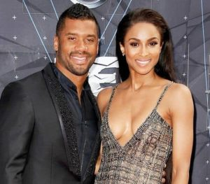 Russell with Ciara