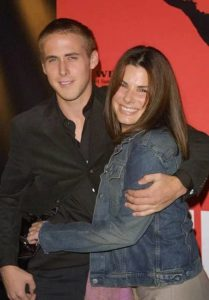 Ryan Gosling with Sandra Bullock