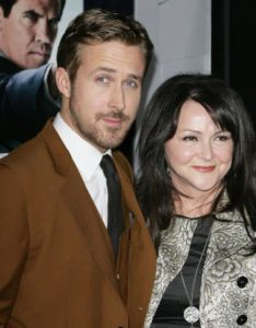 Ryan Gosling with his mother Donna Gosling