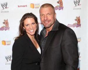 Stephanie McMahon with husband Triple H