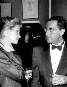 Winona Ryder with her boyfriend Dodi Fayed