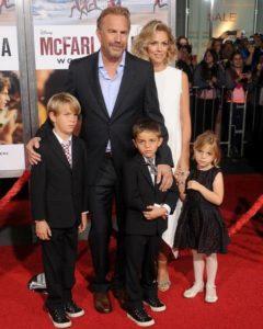 Christine Baumgartner with her husband & Kids