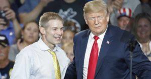 Jim Jordan with Donald Trump