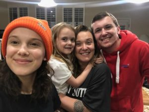 Millie Bobby Brown with her Brothers & Sisters