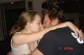 Winona Ryder with her boyfriend Val Kilmer