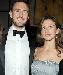 Emma Bloomberg with her husband
