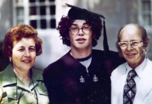 Al Franken with his parents