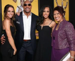 Simone Alexandra Johnson with her family