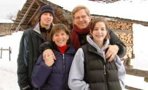 Rick Steves with his wife Anne Steves