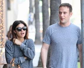 Aaron Rodgers with Jessica Szohr