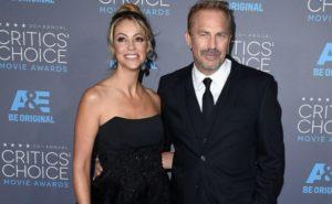 Christine Baumgartner with Kevin Michael Costner