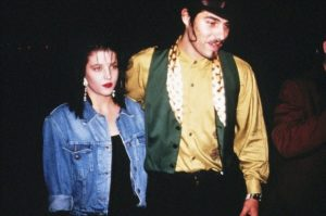 Danny Keough with his wife