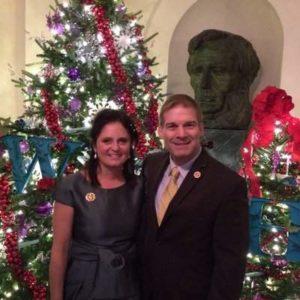 Jim Jordan with his wife