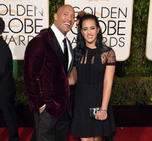 Simone Alexandra Johnson in Golden Globe Awards