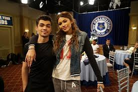 Zendaya ze swoim chłopakiem Adamem