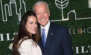Joe Biden with his daughter Ashley