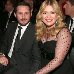 Kelly Clarkson with her husband Brandon