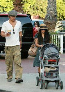 Lisa Bonet with her boyfriend Bryan