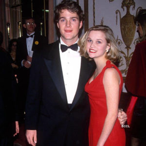 Reese Witherspoon with her boyfriend Chris