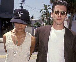 Lisa Bonet with her boyfriend Corey