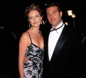 Charlize Theron with her boyfriend Craig