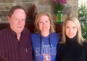 Dana Perino with her parents