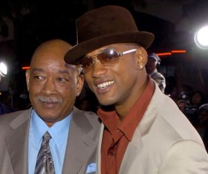 Will Smith with his father