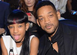 Will Smith with his daughter Willow Smith