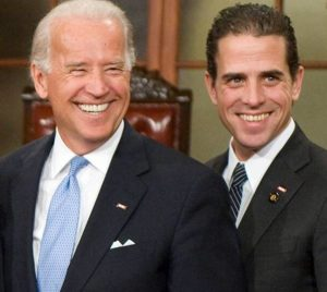 Joe Biden with his son Hunter