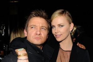 Charlize Theron with her boyfriend Jeremy
