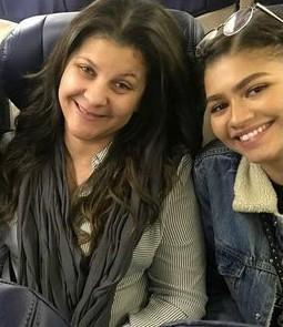Zendaya z siostrą Katianną