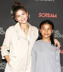 Zendaya z siostrą Kaylee