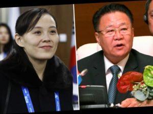 Kim Yo-jong & Kim Choe Song