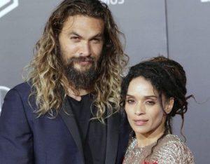 Lisa Bonet with her husband Jason