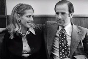 Joe Biden with his ex-wife Neilia