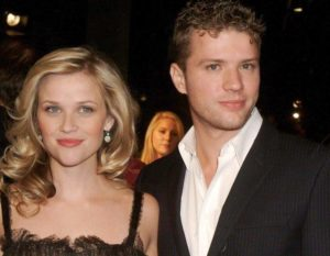 Reese Witherspoon with her ex-husband Ryan