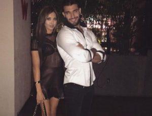 Sam Asghari with his sister