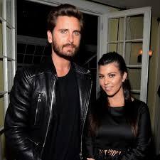 Kourtney Kardashian with her boyfriend Scott