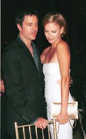 Charlize Theron with her boyfriend Stephan