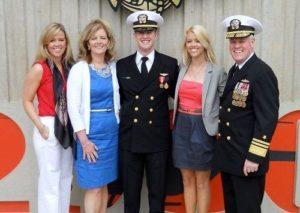 Tara Blake with her family