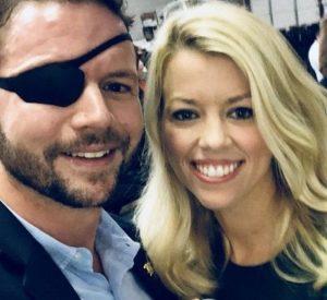Tara Blake with her husband Daniel