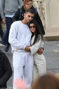 Kourtney Kardashian with her boyfriend Younes